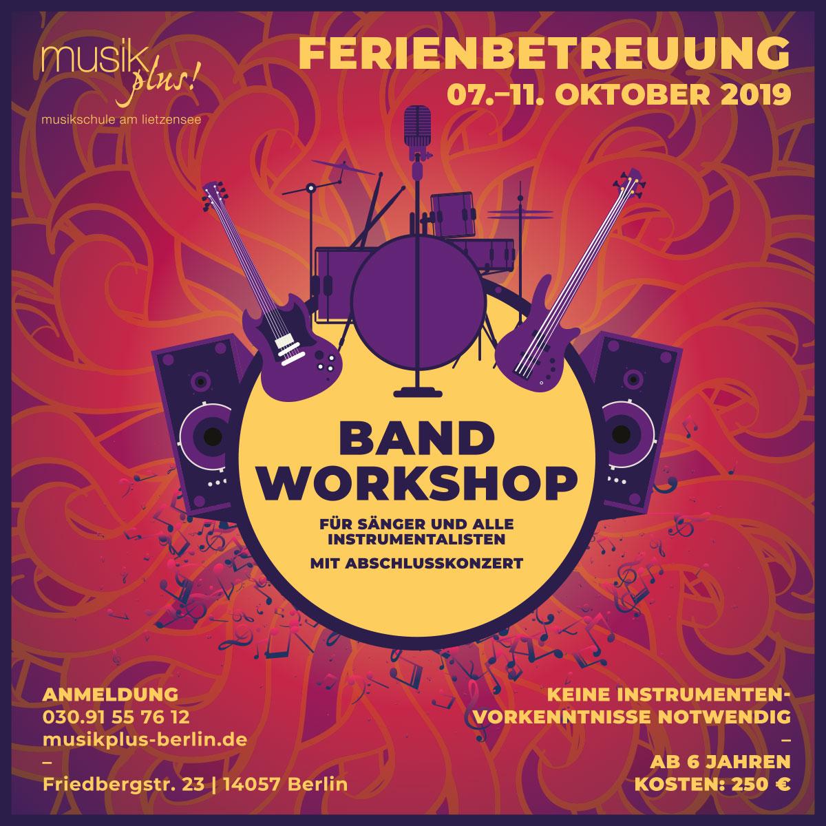 Herbstferien/ Bandworkshop
