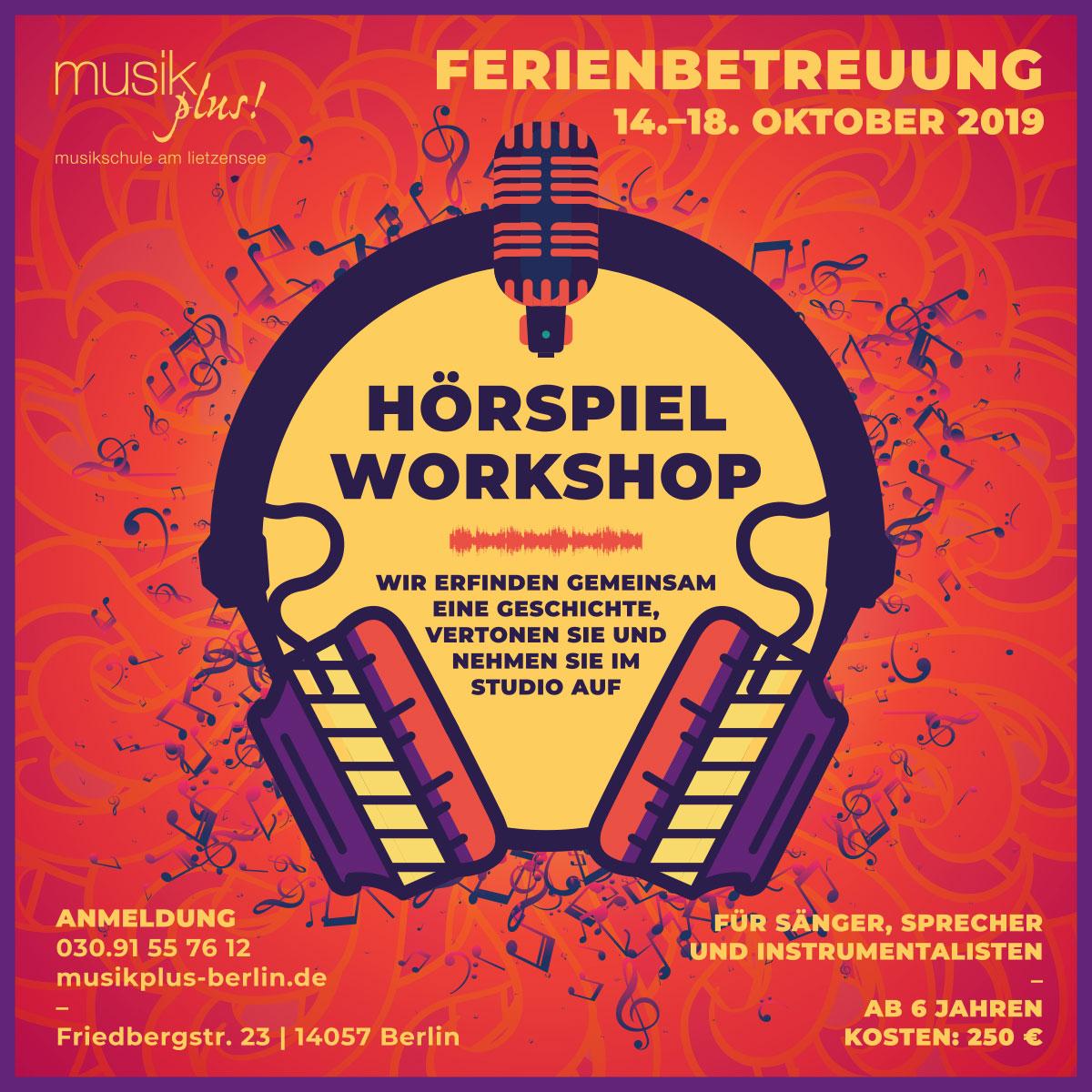 Herbstferien/ Hörpsielworkshop