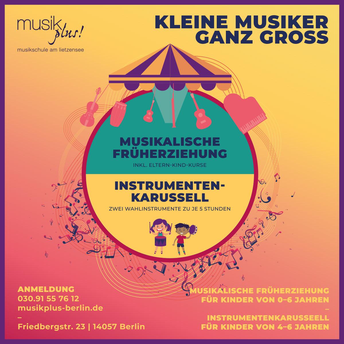 Musikalische Früherziehung// Instrumentenkarussell
